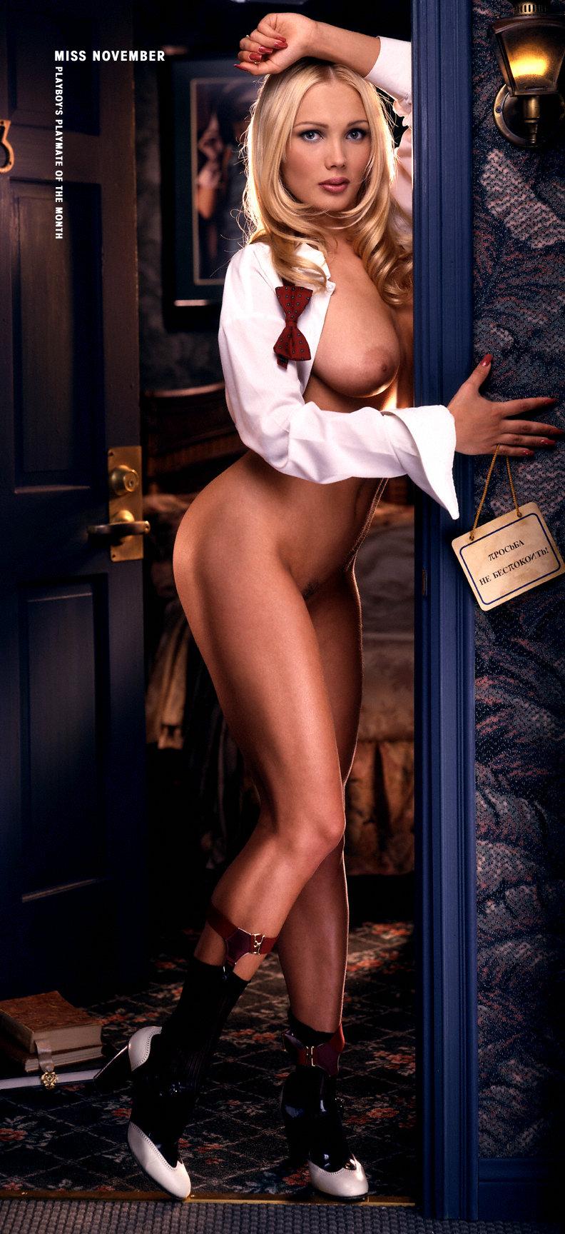 Anna Mucha Playboy nsfw november: inga drozdova, miss november 1997 | the