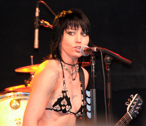 This is what Joan Jett wore to her performance in 2008 at Artscape in ...